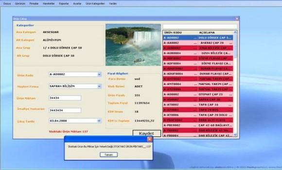 Safran Stok Takip SQL Ekran Görüntüleri - 3