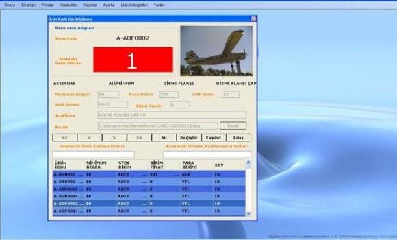 Safran Stok Takip SQL Ekran Görüntüleri - 1