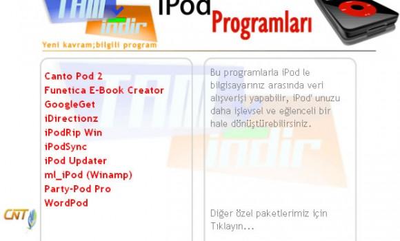 iPod Programlar Paketi Ekran Görüntüleri - 1