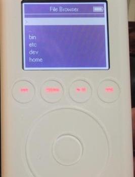 iPod Linux Installer Ekran Görüntüleri - 3