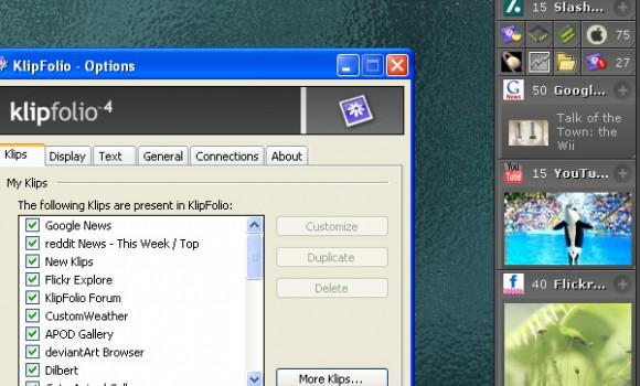KlipFolio 4 Ekran Görüntüleri - 3