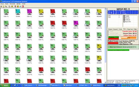 CafeControl 5.0 Professional Demo Ekran Görüntüleri - 1