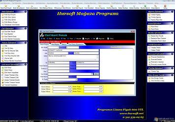 Hursoft Mağaza Programı Ekran Görüntüleri - 2