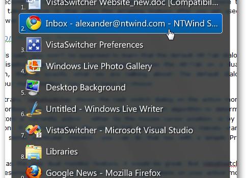 VistaSwitcher Ekran Görüntüleri - 2