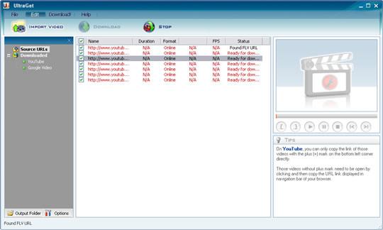 UltraGet Video Downloader v1.13 Ekran Görüntüleri - 2