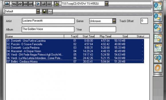 WildFire CD Ripper Ekran Görüntüleri - 3
