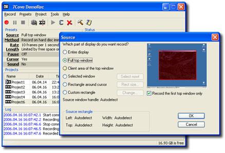 7Cove DemoRec 1.0.47 Ekran Görüntüleri - 1