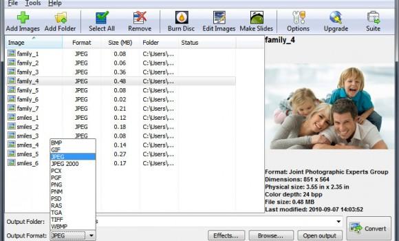 Pixillion Image Converter Ekran Görüntüleri - 1