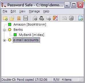 Password Safe Ekran Görüntüleri - 1