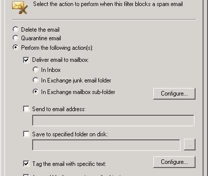GFI MailEssentials Ekran Görüntüleri - 3