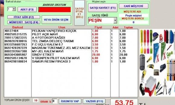 MFD Kırtasiye programı Ekran Görüntüleri - 1