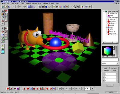 Model Magic 3D Ekran Görüntüleri - 3