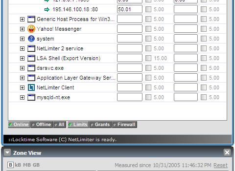 NetLimiter Lite Ekran Görüntüleri - 1