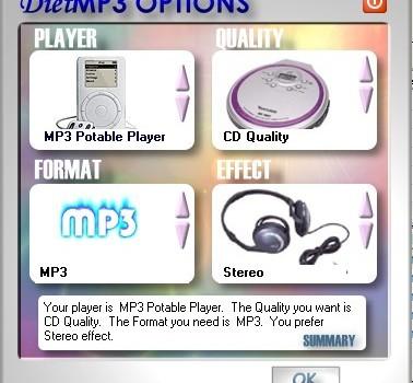 DietMP3 Ekran Görüntüleri - 2