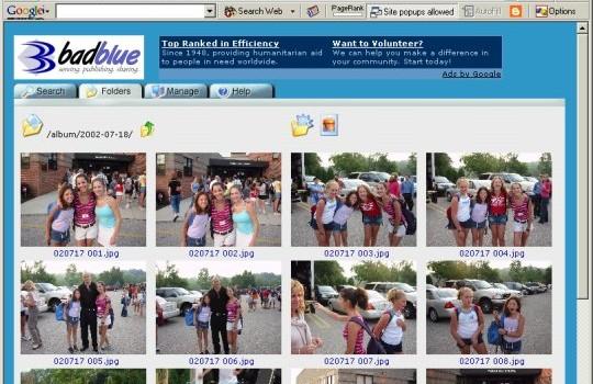 Badblue Ekran Görüntüleri - 1