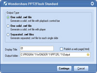 WonderShare PPT To Flash Ekran Görüntüleri - 2