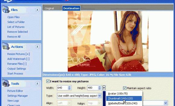 Picture Resize Genius 2.7.1 Ekran Görüntüleri - 1