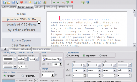 CSS-BuMa 1.2 Ekran Görüntüleri - 1