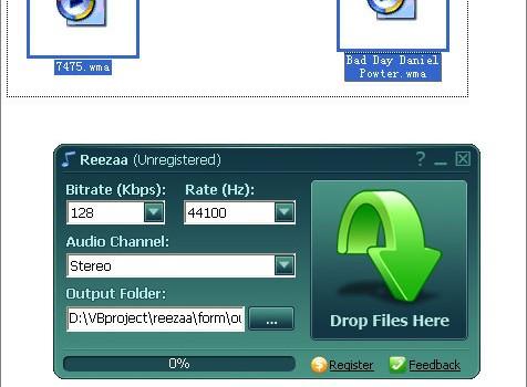 Rezaa MP3 Converter Ekran Görüntüleri - 2