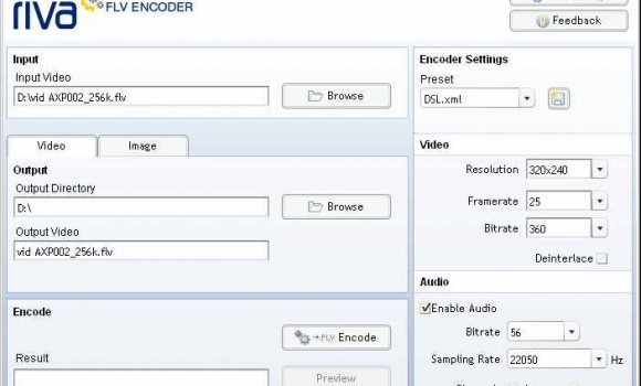 Riva FLV Encoder 2 Ekran Görüntüleri - 1