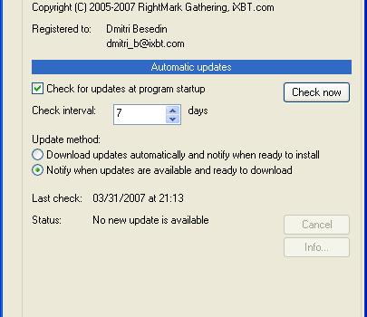 RM Clock Utility  2.30 Ekran Görüntüleri - 2