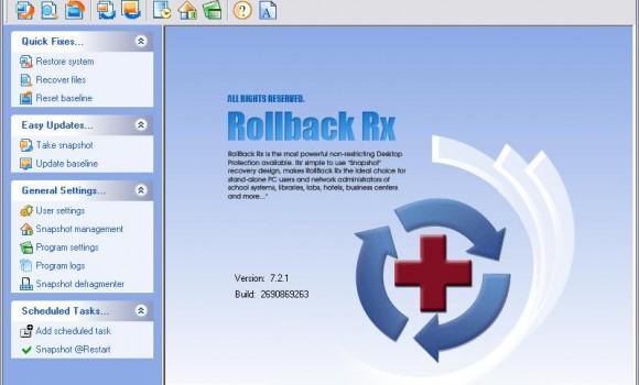 Horizon Rollback Rx Pro Ekran Görüntüleri - 1