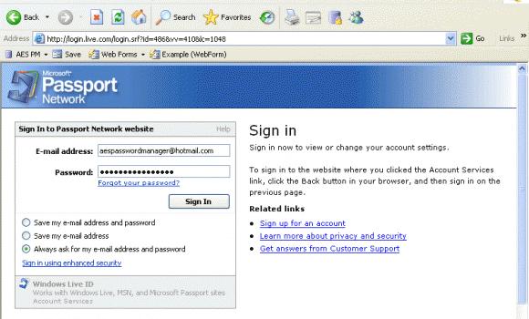 AES Password Manager Ekran Görüntüleri - 2