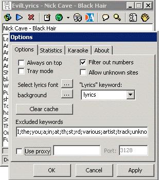 EvilLyrics Ekran Görüntüleri - 2
