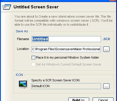 ScreenSaverMaker v2.3 Ekran Görüntüleri - 2