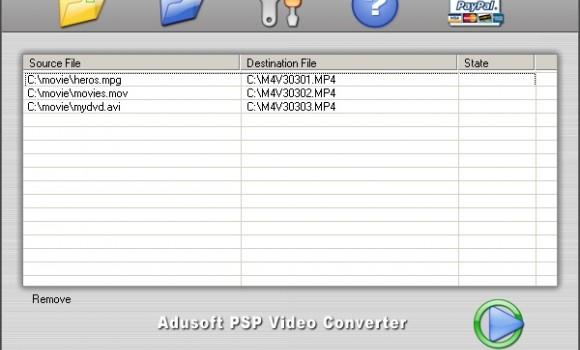 Adusoft PSP Video Converter Ekran Görüntüleri - 1