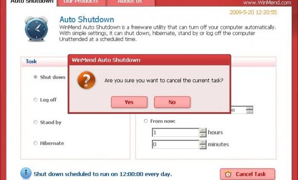 WinMend Auto Shutdown Ekran Görüntüleri - 3