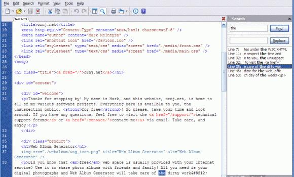 Araneae Text Editor Ekran Görüntüleri - 2