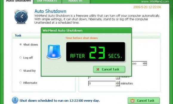WinMend Auto Shutdown Ekran Görüntüleri - 2