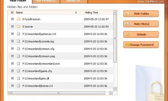 WinMend Folder Hidden Ekran Görüntüleri - 2