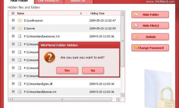 WinMend Folder Hidden Ekran Görüntüleri - 1