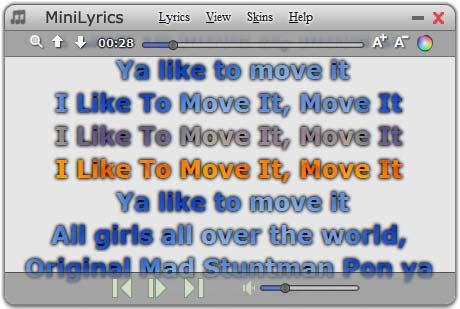 MiniLyrics Ekran Görüntüleri - 1
