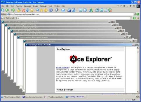 Ace Explorer Ekran Görüntüleri - 1