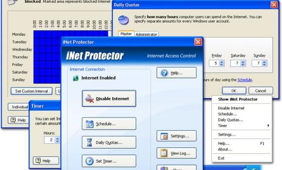 iNet Protector Ekran Görüntüleri - 1