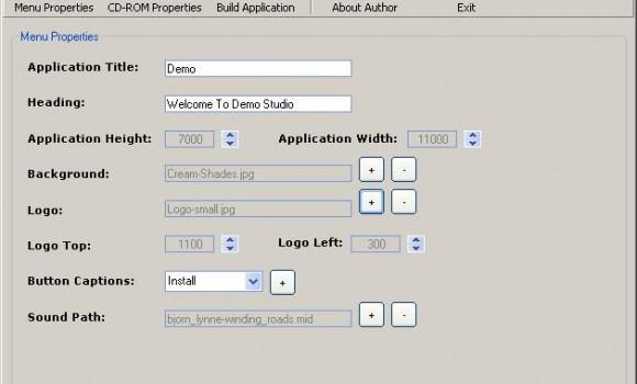 Smart CD Menu Creator 1.0.0.44 Ekran Görüntüleri - 1