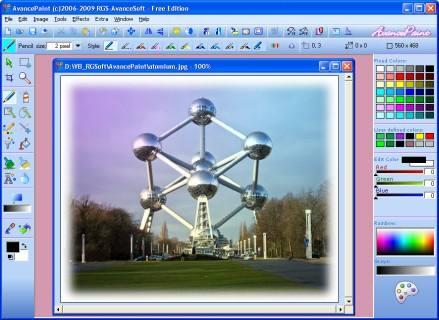 AvancePaint Ekran Görüntüleri - 1