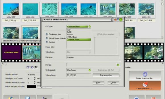 PhotoSlide Ekran Görüntüleri - 1