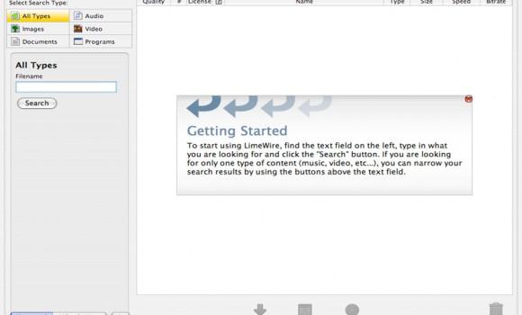LimeWire Ekran Görüntüleri - 3