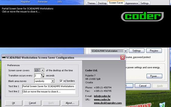 Scada/Hmı Workstation Screen Saver v.1.38 Ekran Görüntüleri - 1