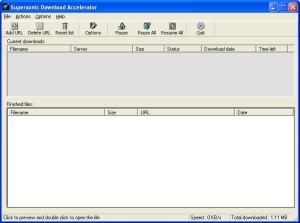 Supersonic Download Accelerator Ekran Görüntüleri - 2