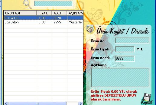 Halı Yıkama Programı(CallerID) Ekran Görüntüleri - 3