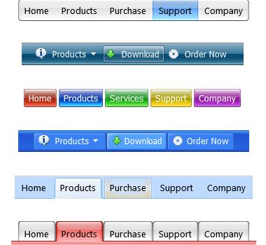 Easy Button & Menu Maker Ekran Görüntüleri - 2