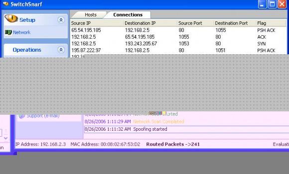 Nexeye Switch Snarf Ekran Görüntüleri - 2