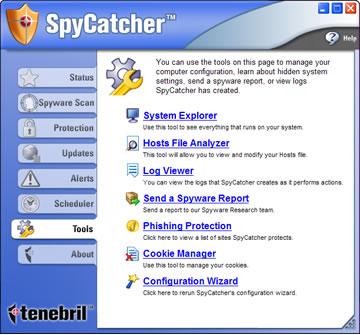 SpyCatcher 2007 Ekran Görüntüleri - 1