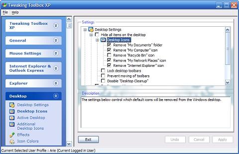 Tweaking Toolbox XP 2.1 Ekran Görüntüleri - 3