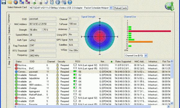 PassMark WirelessMon Ekran Görüntüleri - 1